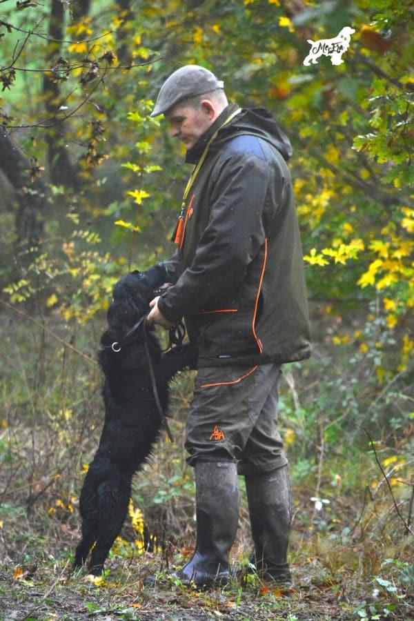 Marco Villani, addestratore cani